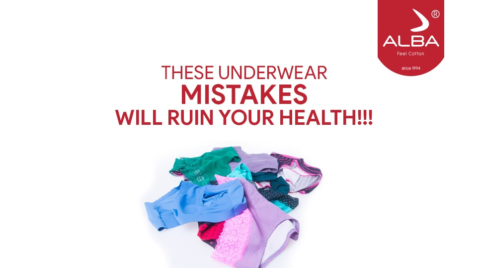 These Underwear Mistakes Will Ruin Your Health !!!